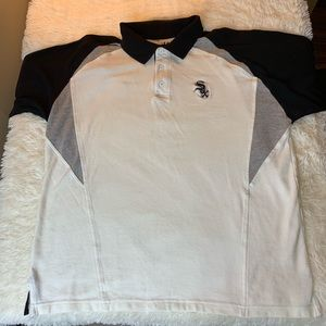 Lee Sport White Sox Polo Size Large